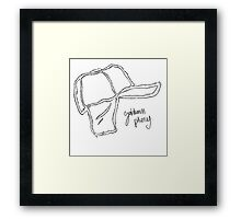 Who Wrote Holden Caulfield? Framed Print