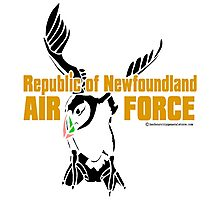 Republic of Newfoundland Air Force Photographic Print