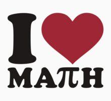 I love Math Pi by Designzz