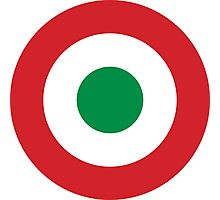 Roundel of the Italian Air Force, 1911-1946 Photographic Print