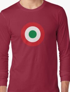 Roundel of the Italian Air Force, 1911-1946 Long Sleeve T-Shirt