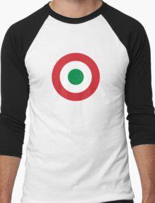 Roundel of the Italian Air Force, 1911-1946 Men's Baseball ¾ T-Shirt