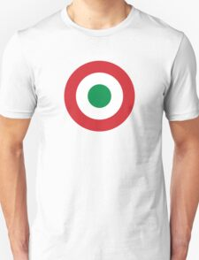 Roundel of the Italian Air Force, 1911-1946 Unisex T-Shirt