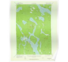 Maine USGS Historical Map Chesuncook 306522 1958 62500 Poster