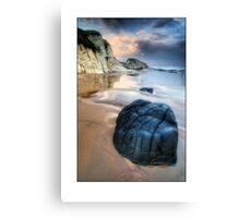 Whiterocks Beach scene Canvas Print