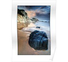 Whiterocks Beach scene Poster