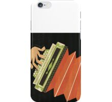 The Squeeze Box Player iPhone Case/Skin