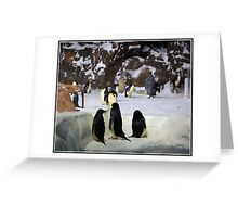 The Penguin Clan Greeting Card