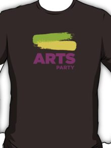 Official White - The Arts Party T-Shirt