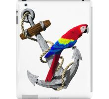 Parrot And Ship Anchor iPad Case/Skin