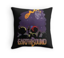 EARTHBOUND - First Steps Throw Pillow
