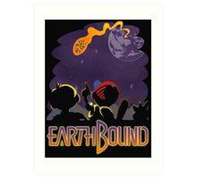 EARTHBOUND - First Steps Art Print