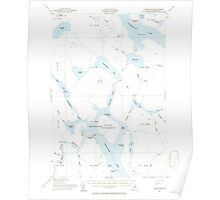 Maine USGS Historical Map Chesuncook 460317 1954 62500 Poster