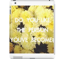 The Weight of Living - Bastille iPad Case/Skin