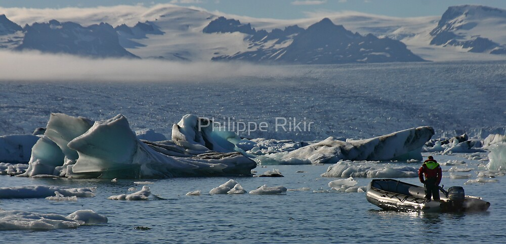 Glacier and Ice by Philippe Rikir