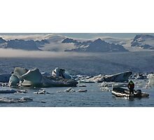 Glacier and Ice Photographic Print