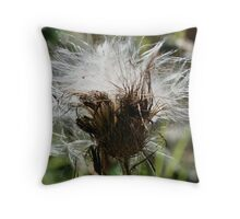 Thistle Fluff Throw Pillow
