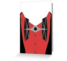 Tie Fighter Greeting Card