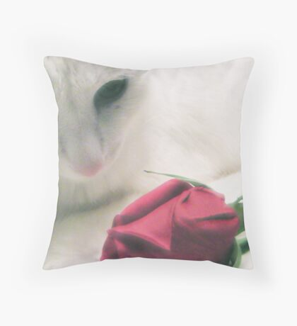 Floral Fascination Throw Pillow