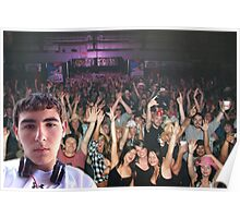 Stage Dive #downwithdevin Poster