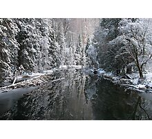 Merced River in Winter Photographic Print