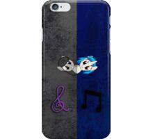 Vinyl Scratch and Octavia Grunge iPhone Case iPhone Case/Skin