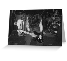 Paradise Lost In Concert 01 Greeting Card