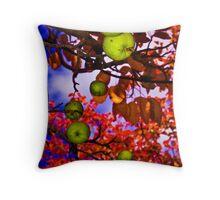 Fall Apples Throw Pillow