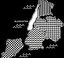 BLANDHATTAN Graphic T by Blandhattan