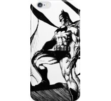 Black and White Knight iPhone Case/Skin