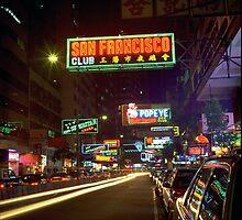 Wanchai Street by magartland