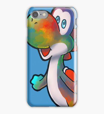 Tie-dye Yoshi iPhone Case/Skin