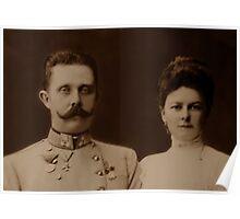 Archduke Franz Ferdinand of Austria Poster