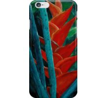 Tropical Floral Study 1 iPhone Case/Skin