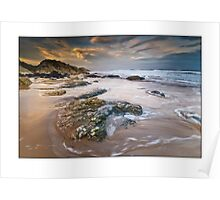 Whiterocks sunrise Poster