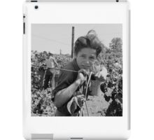 An American Boy  by Dorothea Lange iPad Case/Skin