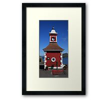 Knightstown Clock Tower and weighbridge Framed Print