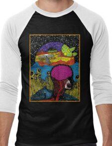 Paradox Moon Men's Baseball ¾ T-Shirt