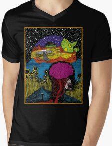 Paradox Moon Mens V-Neck T-Shirt
