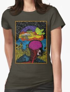 Paradox Moon Womens Fitted T-Shirt