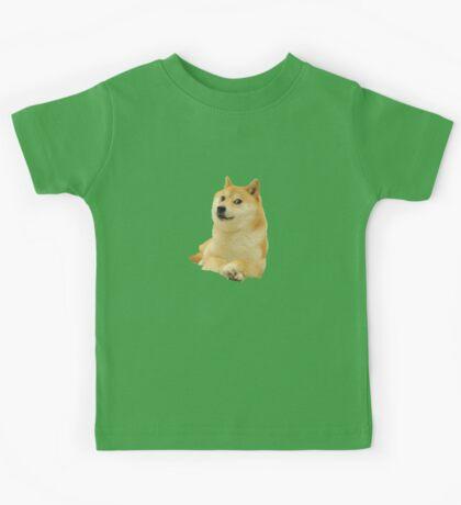 Doge shibe meme classic Kids Tee