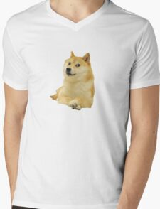 Doge shibe meme classic Mens V-Neck T-Shirt