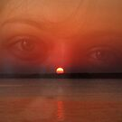 Sunset, in her eyes by Lydia Cafarella