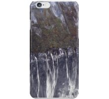 Looking down at a Waterfall iPhone Case/Skin