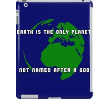 How many gods are there, anyway? iPad Case/Skin