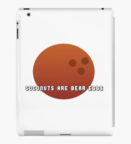 So that's where bears come from iPad Case/Skin