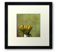 Just a Word Away Framed Print