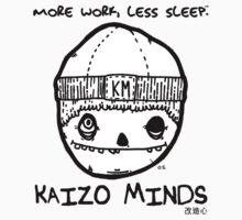 Kaizo Minds - More Work, Less Sleep [Oscar Logo] by LewisJFC