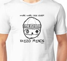 Kaizo Minds - More Work, Less Sleep [Oscar Logo] Unisex T-Shirt