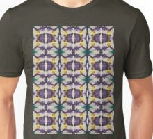 abstract teal and purple Unisex T-Shirt